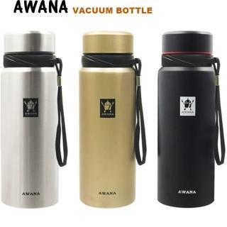 【AWANA】經典運動保溫瓶附濾網700ml-隨機(買1送1)