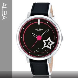 【SEIKO 精工 ALBA】送禮首選-星空系列女錶(AG8377X1)