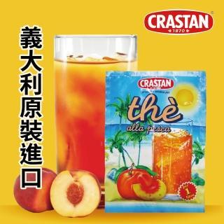 【CRASTAN可洛詩丹】即溶蜜桃風味茶(90gX1包-一包可泡一壺)