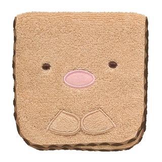 【San-X】角落公仔緊緊窩角落系列棉絨收納袋(炸豬排)
