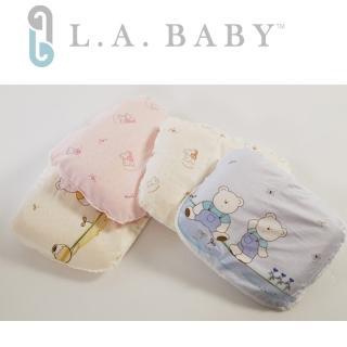 【美國 L.A. Baby】天然乳膠塑型枕(藍色/粉色/黃色/淡黃色)