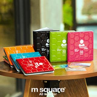 【M Square】蜂巢造型32卡相簿本