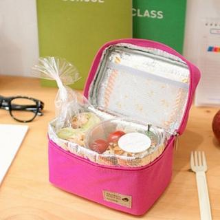 【iSPurple】手提方型*防水野餐便當袋/四色可選