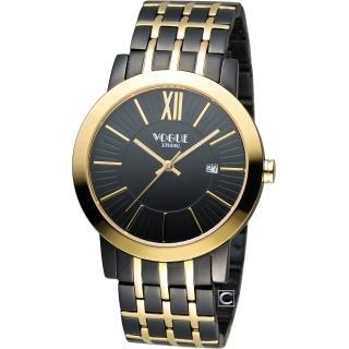 【VOGUE】低調簡約時尚腕錶(2V1407-231DYG-D)
