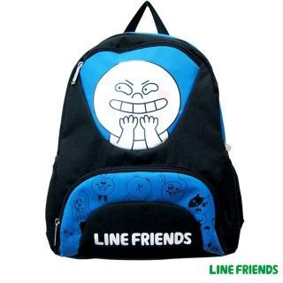 【LINE FRIENDS】雙層書背包(饅頭人)