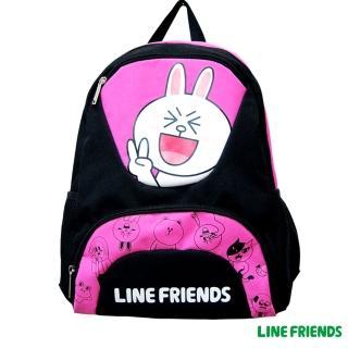【LINE FRIENDS】雙層書背包(兔兔款)
