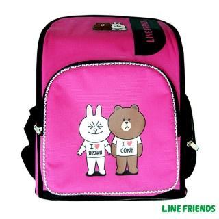 【LINE FRIENDS】MIT舒壓護脊書包(兔兔熊大)