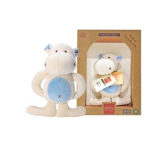 【美國miYim】有機棉固齒娃娃禮盒(河馬)