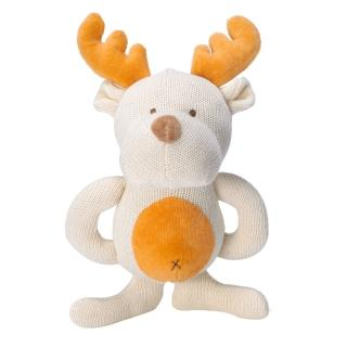 【美國miYim】有機棉固齒娃娃禮盒(麋鹿)