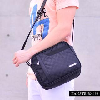 【Fanste_梵仕特】側背包-炫亮格調多功能(9108)