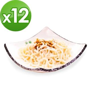 【樂活e棧】降卡光棍蒟蒻麵-燕麥拉麵12包(附醬料包)
