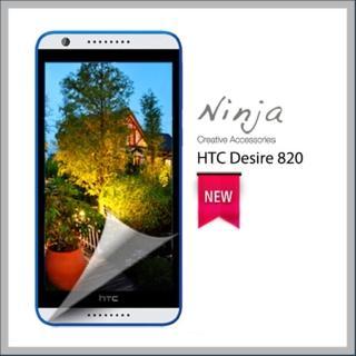 【東京御用Ninja】HTC Desire 820專用高透防刮無痕螢幕保護貼