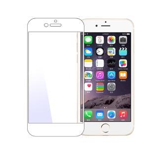 iPhone6 Plus 全滿版彩色框0.3mm弧形鋼化玻璃保護貼(黑)
