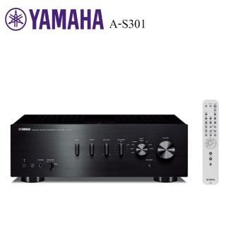 【獨家送雙人電毯 YAMAHA】頂級HiFi兩聲道擴大機A-S301(台灣山葉公司貨)
