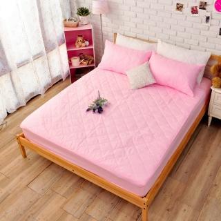 【dreamer STYLE】100%防水保潔墊(粉色床包單人)