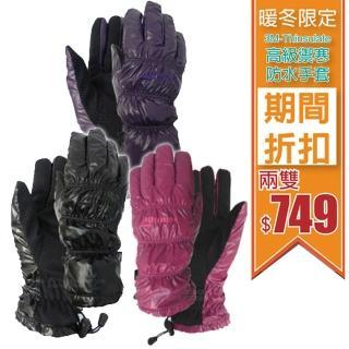 【意都美 Litume】3M-Thinsulate 淑女防水透氣禦寒手套-2雙組合價(F121)
