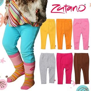 【美國 Zutano】純棉寶寶修身內搭褲-多彩素色 款(七色可選)
