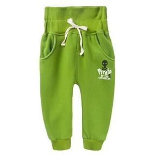 【baby童衣】長褲 厚棉內刷毛印字護肚褲 47061(大綠)