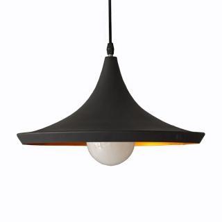 【華燈市】印度盤型復刻時尚吊燈-黑(熱銷設計師款)
