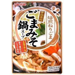 【丸三】芝麻味噌火鍋湯底調味料(750g)