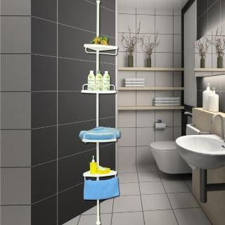 頂天立地實用衛浴收納架/置物架(2入組)