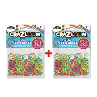 【美國Cra-Z-Art】Cra-Z-Loom圈圈彩虹編織 橡皮筋補充包 彩色x2包(共400條)