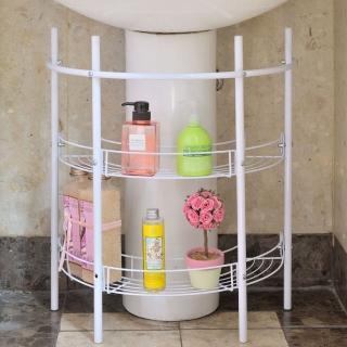 【ikloo宜酷屋】洗手台收納架水槽下收納架