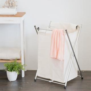 【ikloo宜酷屋】可提式髒衣收納籃/洗衣籃(單格)
