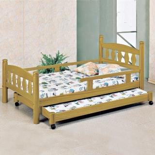 【時尚屋】烏心石3.7尺子母床(070-1)