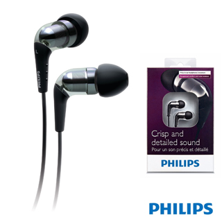 【PHILIPS】立體聲高傳真耳塞式耳機(SHE9850)