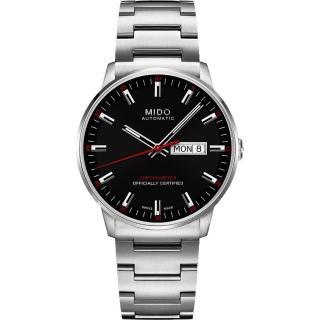【MIDO】Commander II香榭系列天文台機械腕錶-黑(M0214311105100)