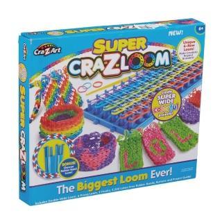 【美國Cra-Z-Art】Cra-Z-Loom圈圈彩虹編織 旗艦組(編織器+環形編織器+橡皮筋)