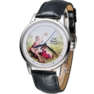 【Ogival】愛其華 微砌彩繪機械腕錶(1929-24.9AGS)