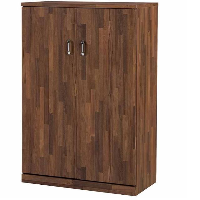 【時尚屋】和風柚木色3尺鞋櫃(345-1)