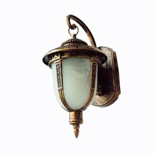 【華燈市】古銅刷金戶外壁燈(復古庭園風)