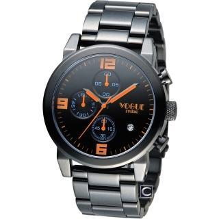 【VOGUE】潮流戰警計時腕錶(2V1407-251D-D)