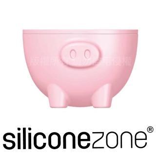 【Siliconezone】施理康耐熱粉紅小豬造型烤杯兩入(CM-11816-AA)