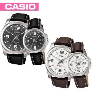 【CASIO 卡西歐】日系-浪漫情人對錶(MTP-1314L+LTP-1314L)