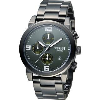 【VOGUE】潮流戰警計時腕錶(2V1407-251-D-G)
