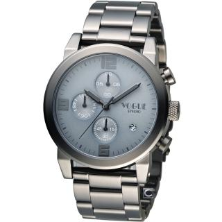 【VOGUE】潮流戰警計時腕錶(2V1407-251GR-GR)