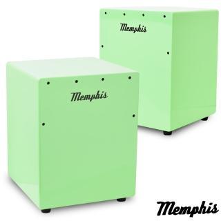 【拓弦音樂】Memphis 雙效果吉他響線木箱鼓/鈴鐺效果/送專用背袋/綠色(CA011-03/綠色)