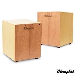 【拓弦音樂】Memphis 雙效果吉他響線木箱鼓/鈴鐺效果/送專用背袋/原木色(CA011-04/原木色)