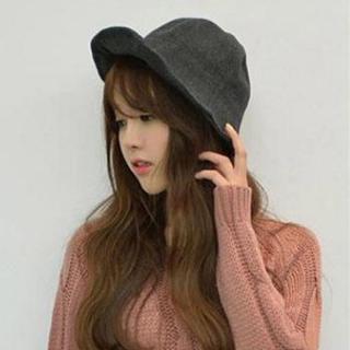 【PS Mall】韓版漁夫帽 純色秋冬帽子 巫女帽子甜美遮陽帽子 漁夫帽(G1706)