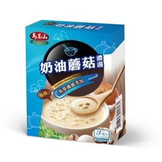 【馬玉山】纖一杯-奶油蘑菇濃湯(3入)