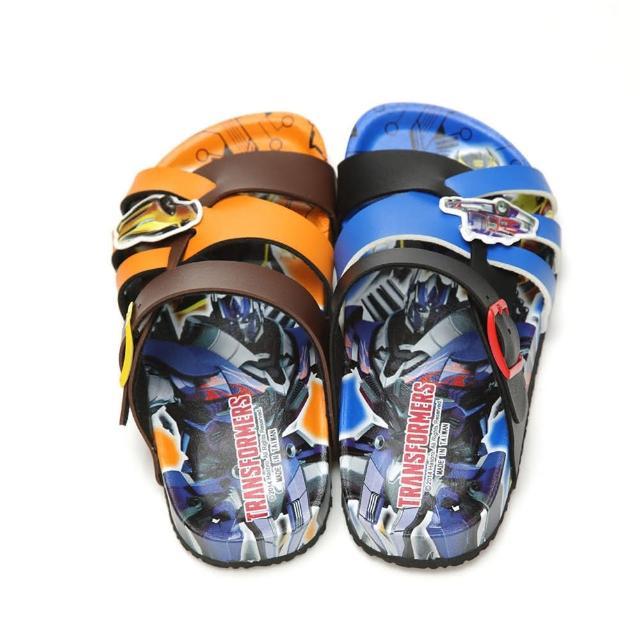【童鞋城堡】變形金剛中童酷炫軟木風格拖鞋(TF10052)