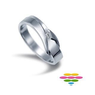 【彩糖鑽工坊】愛情9號線系列 鑽石男戒指(CL-RE26)