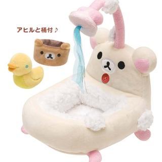 【San-X】拉拉熊專用換裝系列小公仔專用家具(懶妹小浴缸)