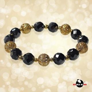 【HEMAKING】金色縷空圓珠磁石手鍊