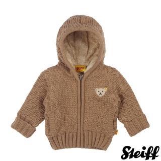 【STEIFF德國精品童裝】長袖 連帽 羊毛 外套 咖啡(外套)