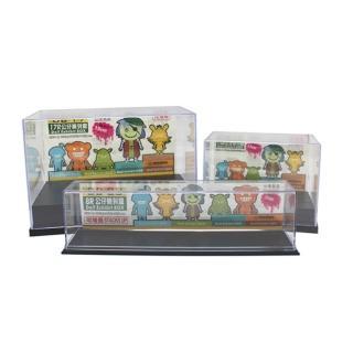 【依之屋】透明壓克力公仔陳列盒(3款各一)